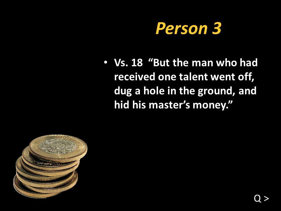 Person 3 Vs.