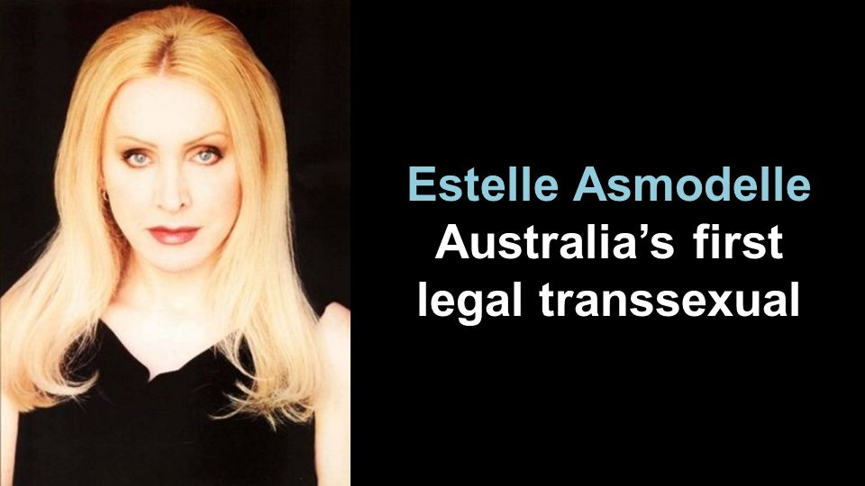 Estelle Asmodelle Australias first legal transsexual
