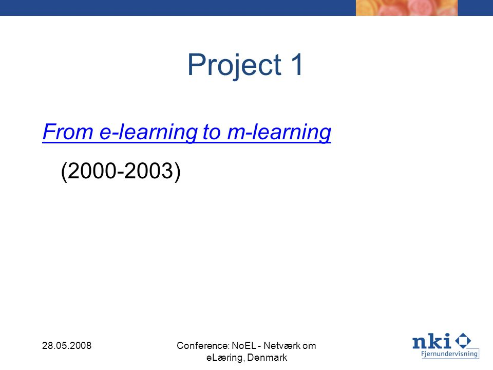 AUSTRALIA Current mLearning initiatives within the education and training sector of Australia are characterised by fragmentation.