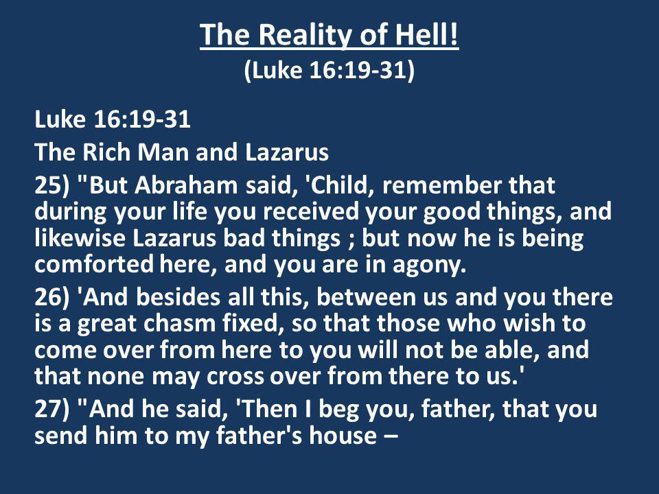 The Reality of Hell.