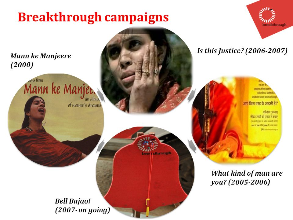 Breakthrough campaigns Mann ke Manjeere (2000) Is this Justice.
