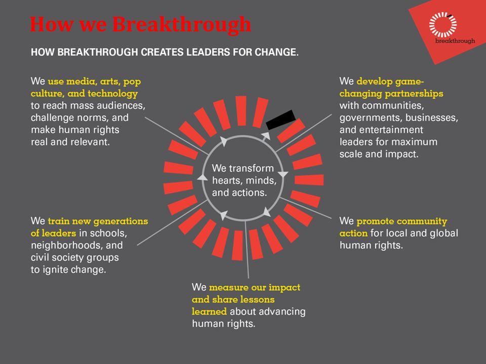 How we Breakthrough