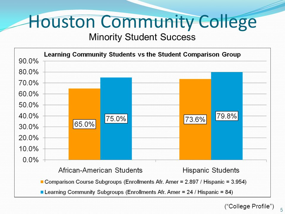 Houston Community College 5 Minority Student Success (College Profile)