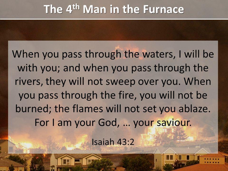 Joseph Scriven Corrie Ten Boom The 4 th Man in the Furnace