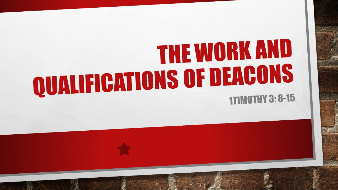 WHAT IS A DEACON.THE WORD DEACON DERIVES FROM THE GREEK WORD DIAKONOS.