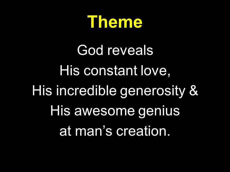 3a.God Gives Man Personal Companionship, 18-25 A.