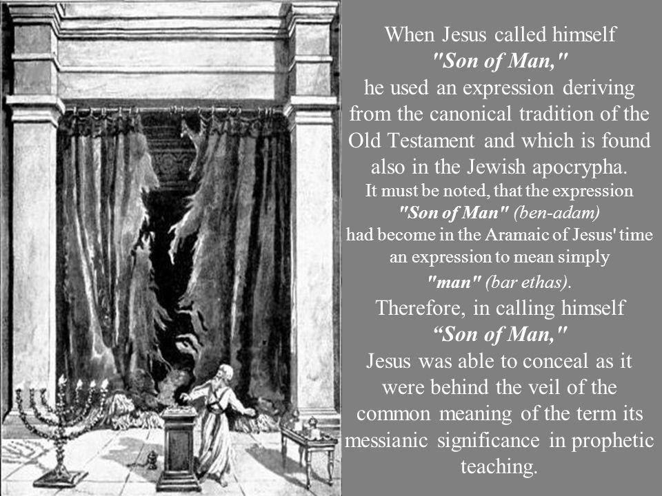 When Jesus called himself