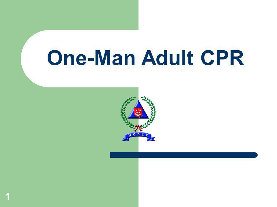 1 One-Man Adult CPR