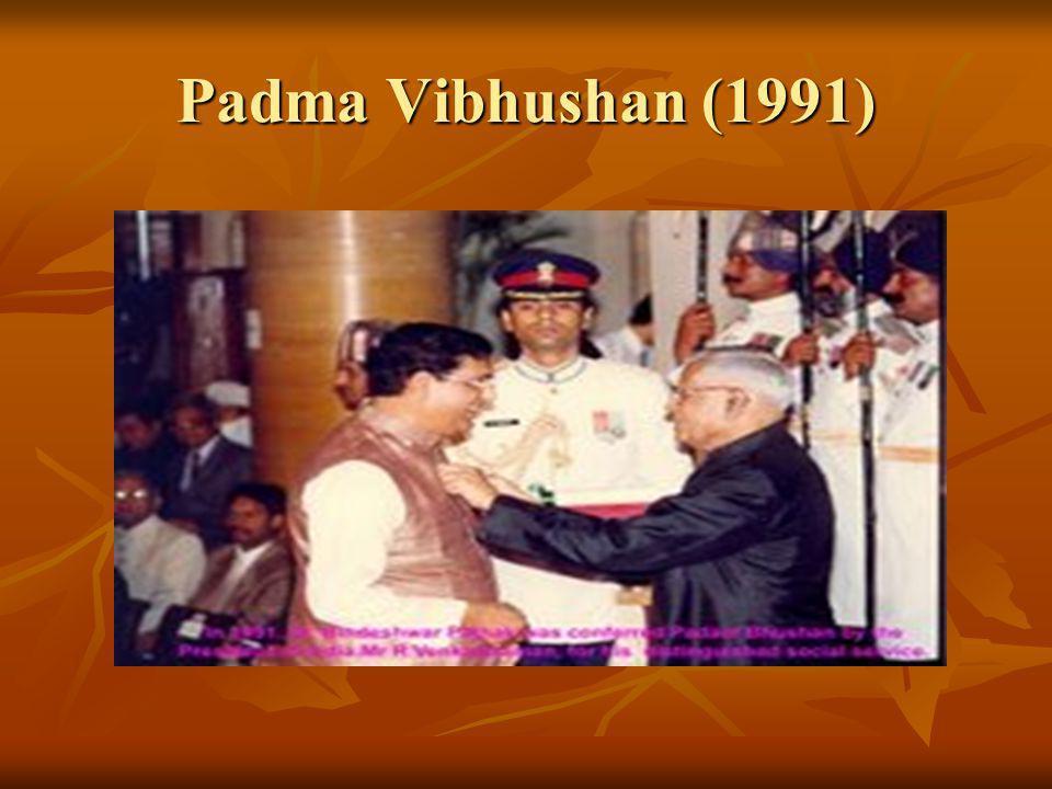 Padma Vibhushan (1991)