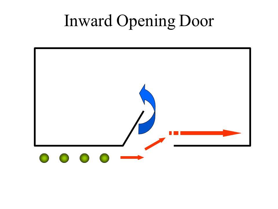 Inward Opening Door