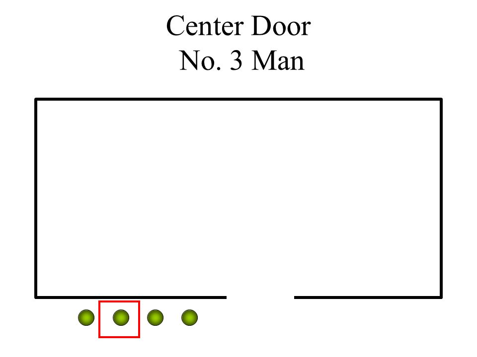 Center Door No. 3 Man