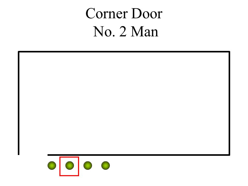 Corner Door No. 2 Man