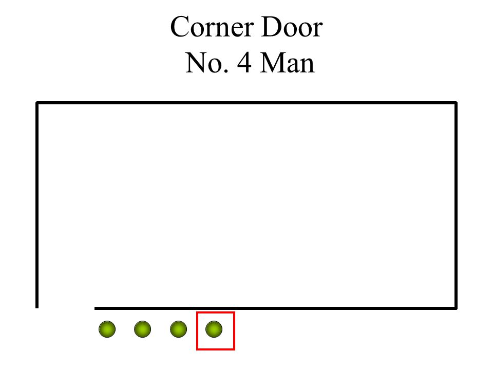 Corner Door No. 4 Man