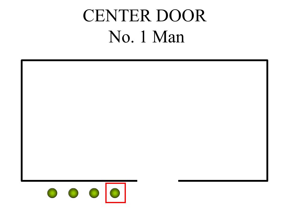 CENTER DOOR No. 1 Man