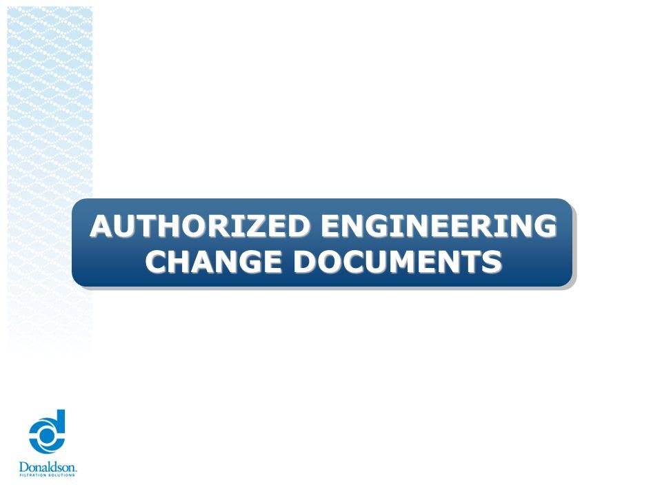 AUTHORIZED ENGINEERING CHANGE DOCUMENTS