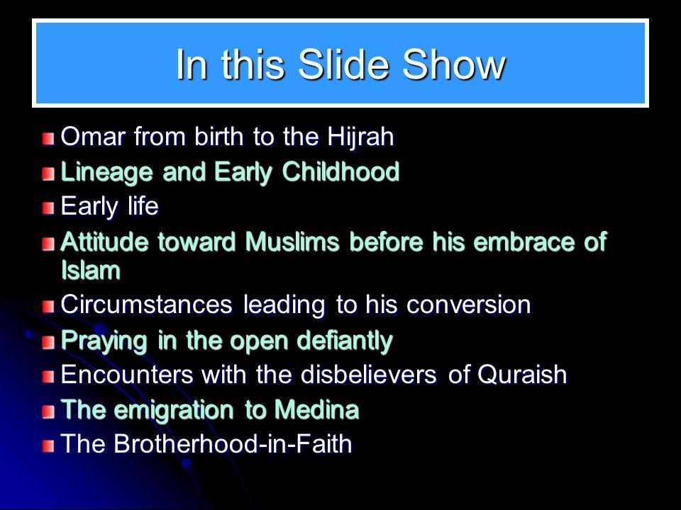 Sources of Reference Al Farooq, Omar, Muhammad Husayn Haykal al-Tabari, History of the Prophets and Kings Tabqat ibn Sa'ad. al-Suyuti, The History of