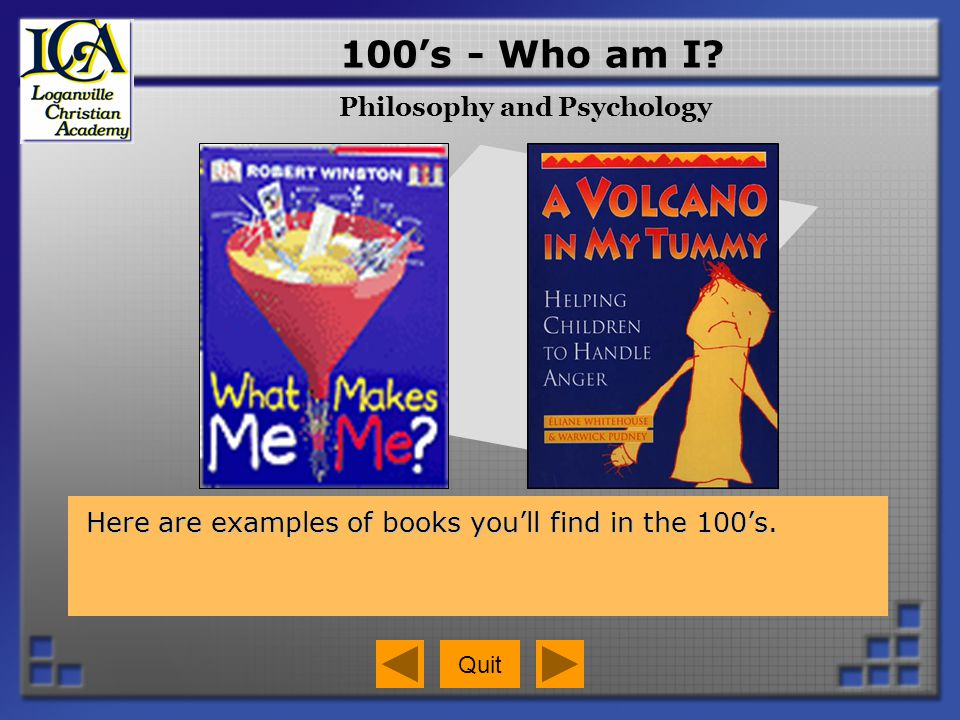 700s – How can I enjoy my free time.Books in the 700s show you what people do for fun.