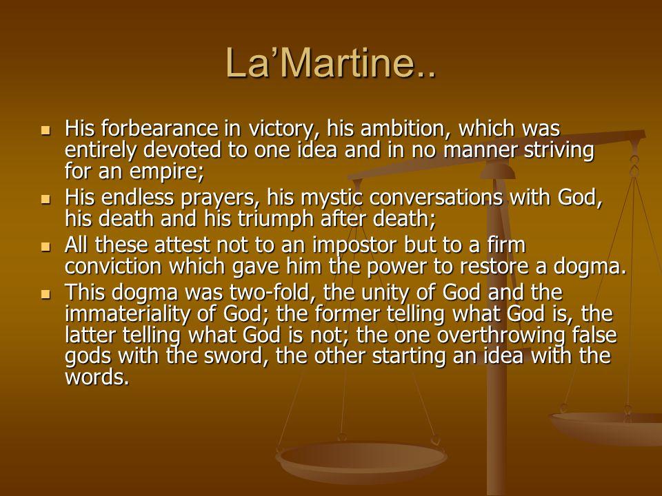 LaMartine..