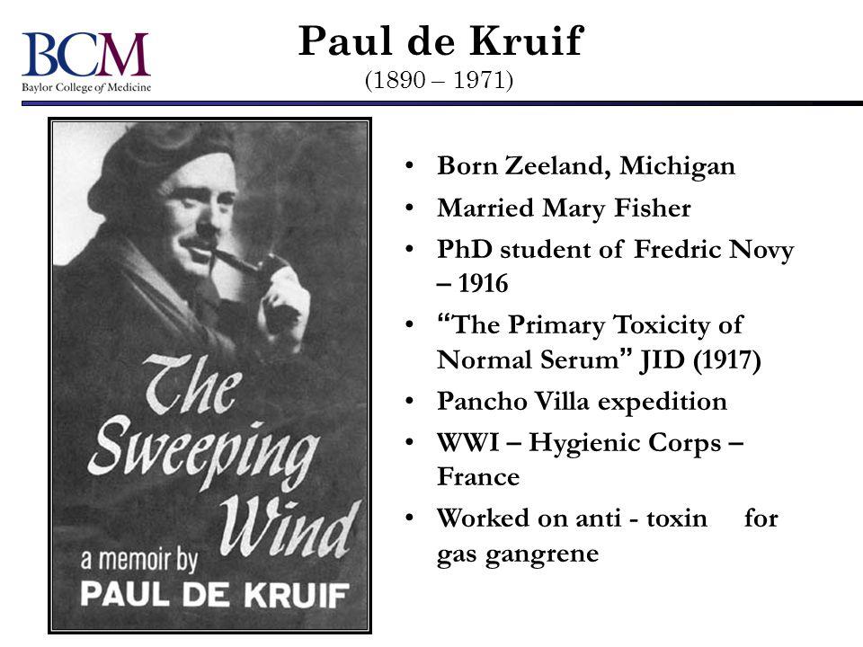 Robert KochEmile Roux Scientific Blood Lines { Frederick NovyPaul de Kruif