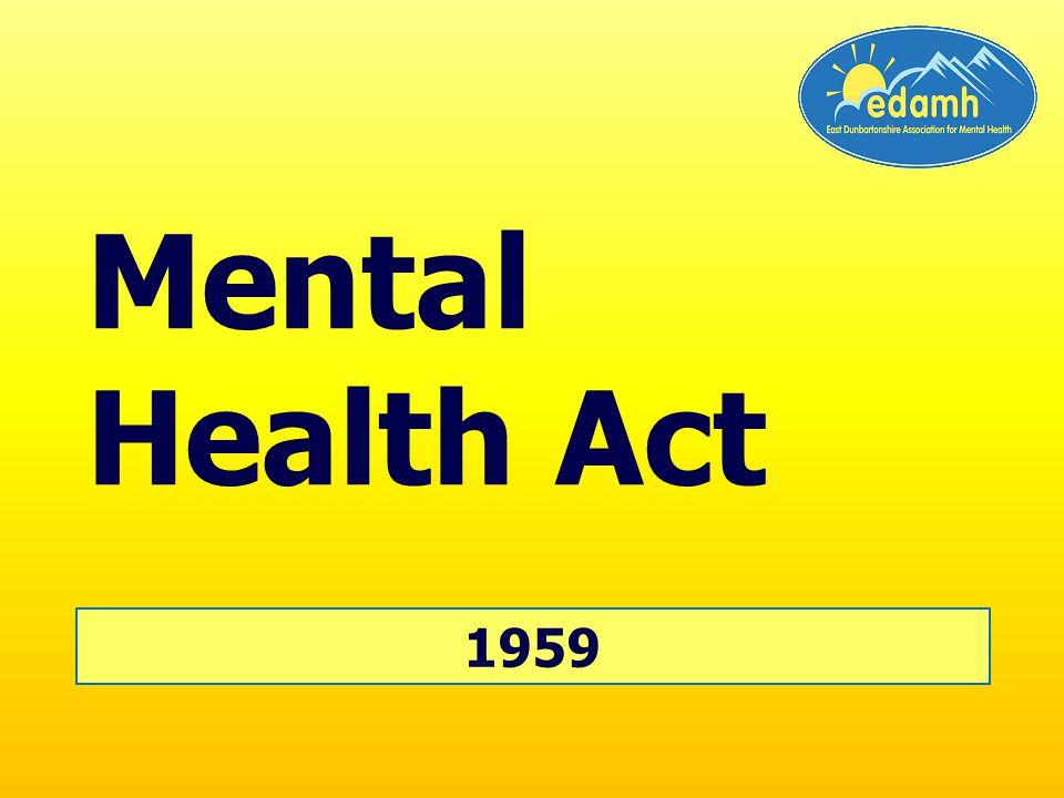 1959 Mental Health Act