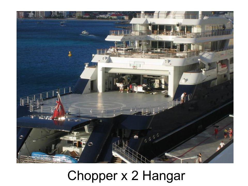 Chopper x 2 Hangar