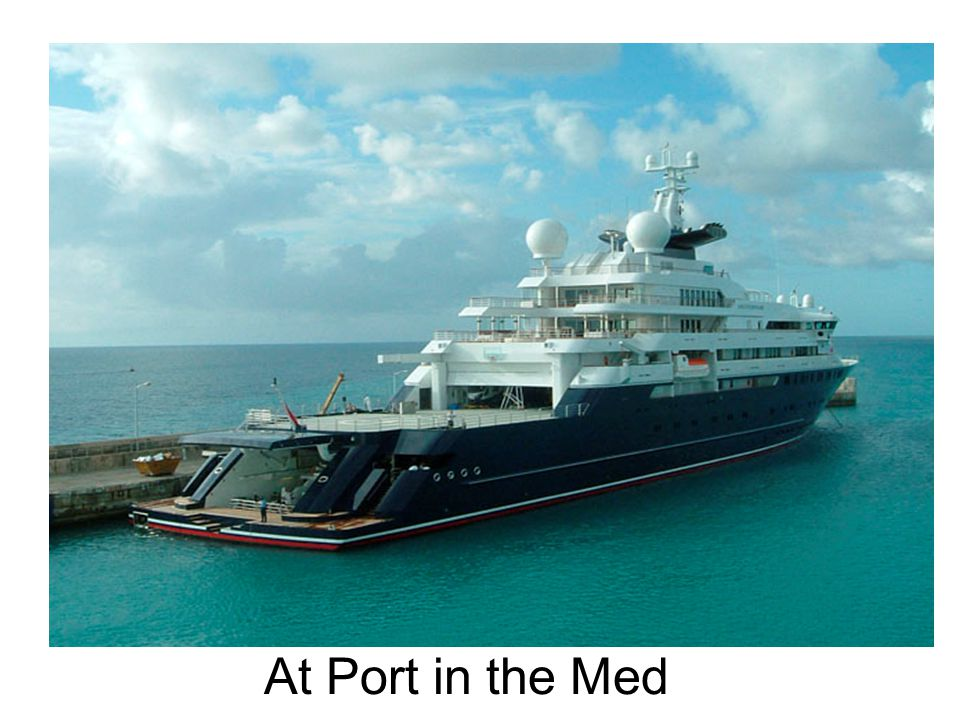 At Port in the Med