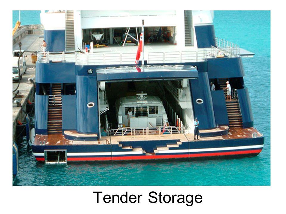 Tender Storage