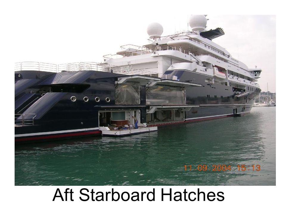 Aft Starboard Hatches