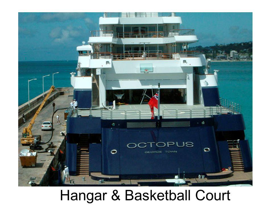 Hangar & Basketball Court