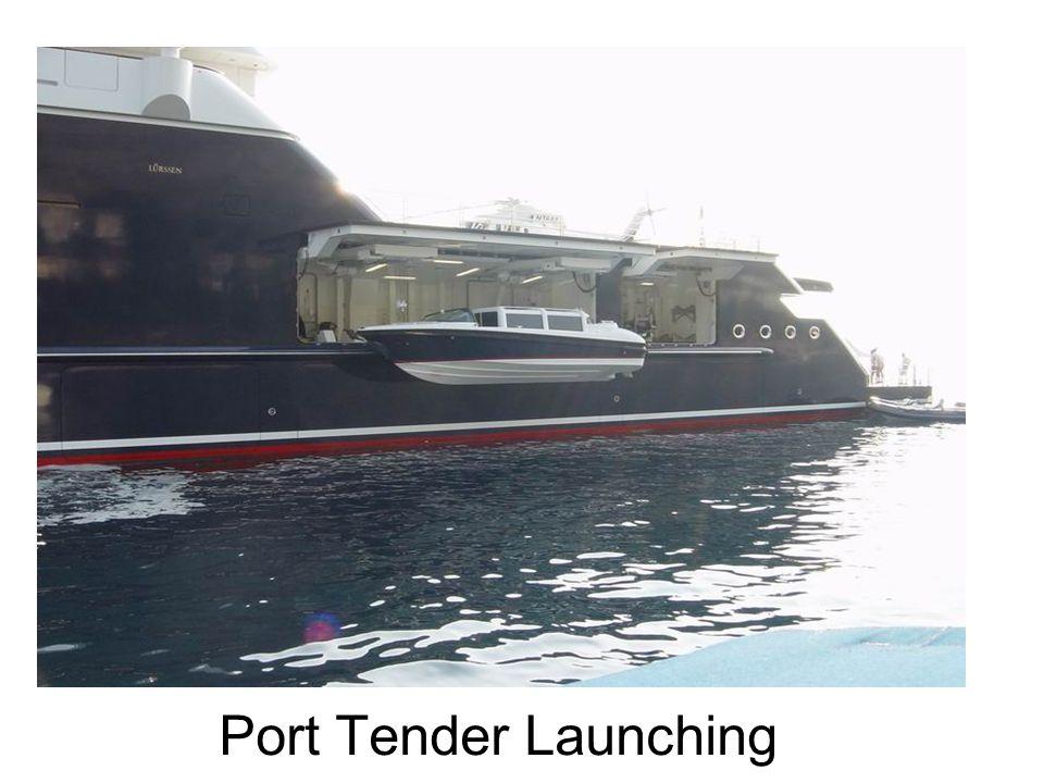 Port Tender Launching