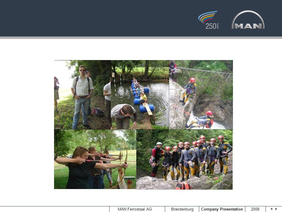 <> MAN Ferrostaal AGBrandenburg Company Presentation 2008