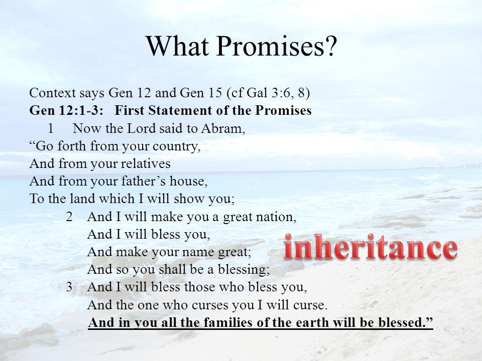 What Promises.