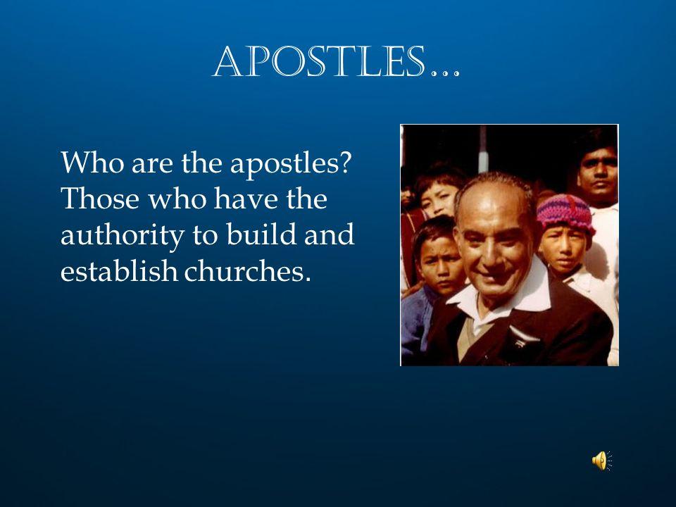 Pastors… Who are pastors ..