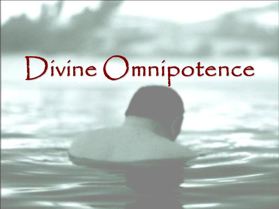 Divine Omnipotence