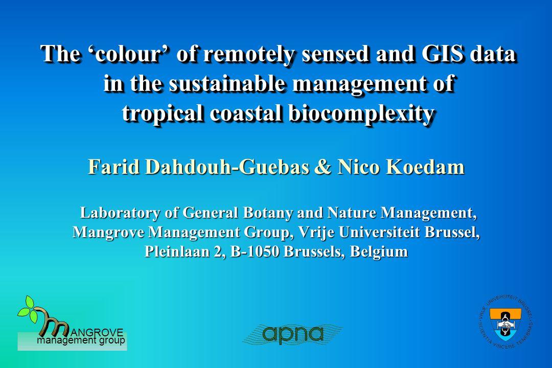 ANGROVE management group Tropical Coastal Biocomplexity MANGROVE FORESTS florafauna manenv.