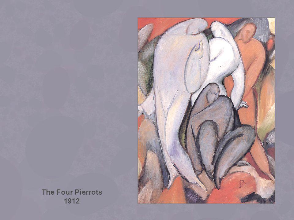 The Four Pierrots 1912