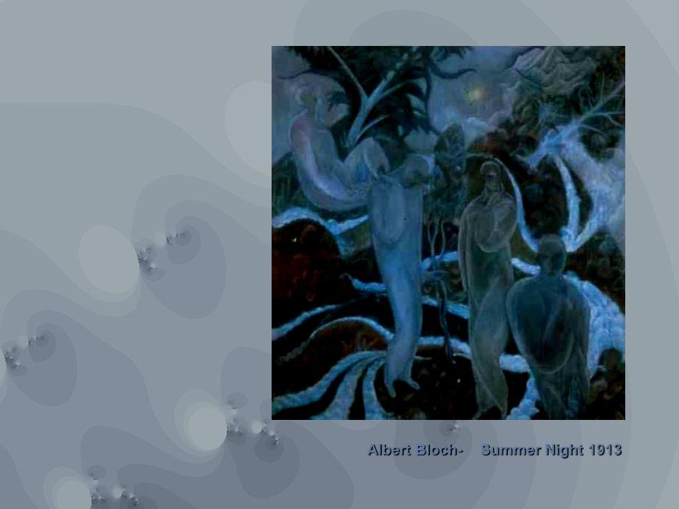 Summer Night 1913 Albert Bloch-