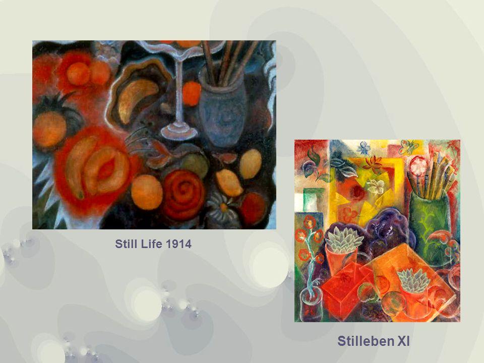 Stilleben XI Still Life 1914