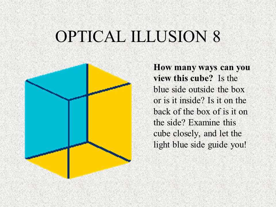 OPTICAL ILLSUION 9 At first glance, what do you see--Could it be the word liar or is it something more.