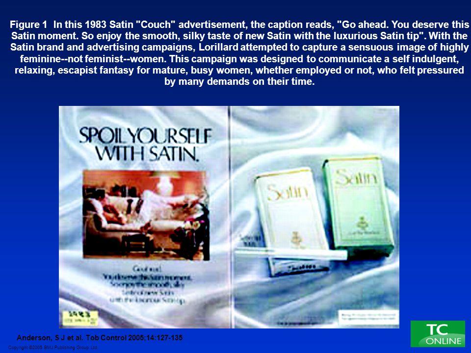 Copyright ©2005 BMJ Publishing Group Ltd. Anderson, S J et al. Tob Control 2005;14:127-135 Figure 1 In this 1983 Satin