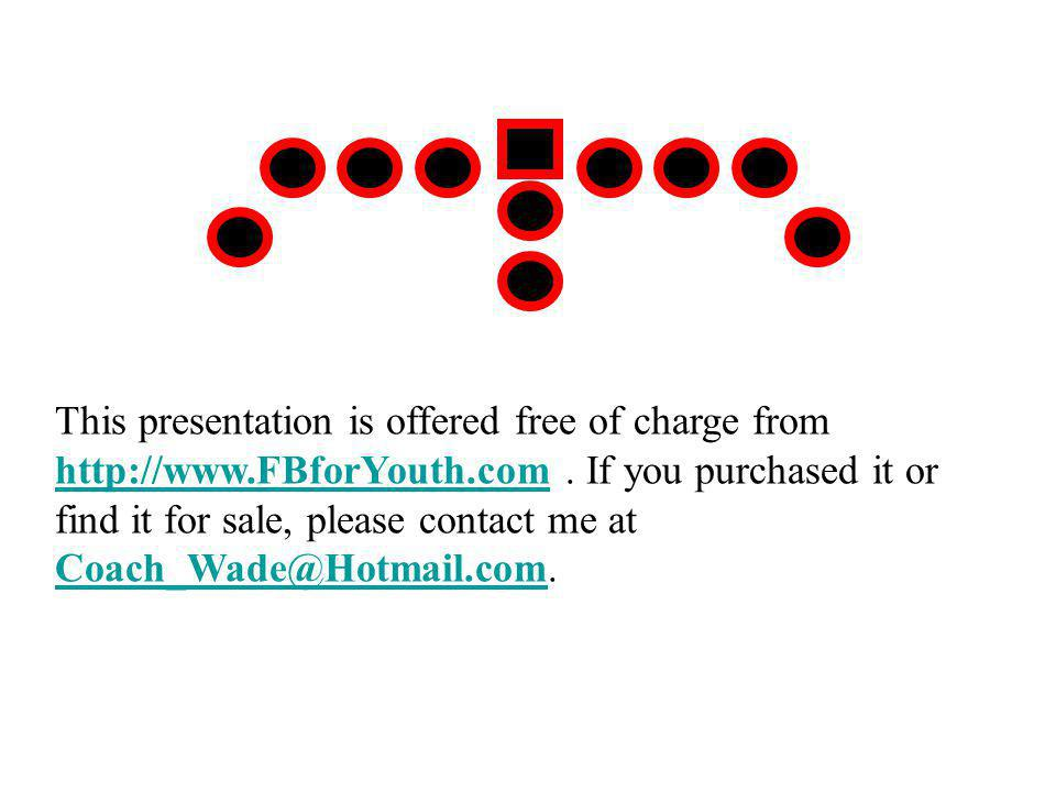 This presentation is offered free of charge from http://www.FBforYouth.com. If you purchased it or find it for sale, please contact me at Coach_Wade@H