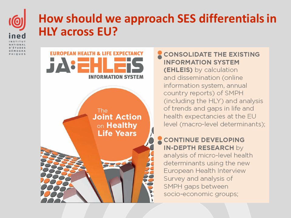 How should we approach SES differentials in HLY across EU?