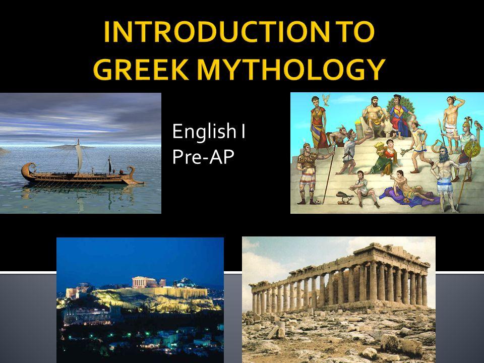 English I Pre-AP
