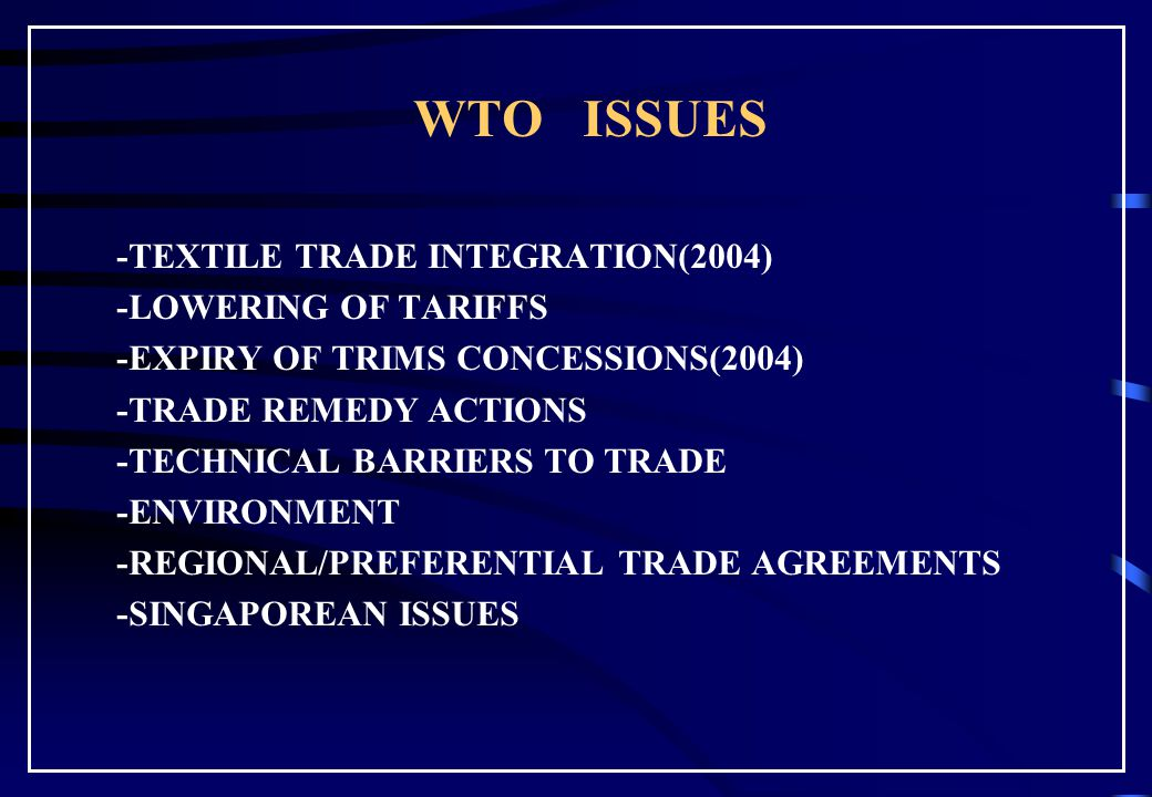 WTO Implications for Engr. Akber Sheikh akbers@yahoo.com
