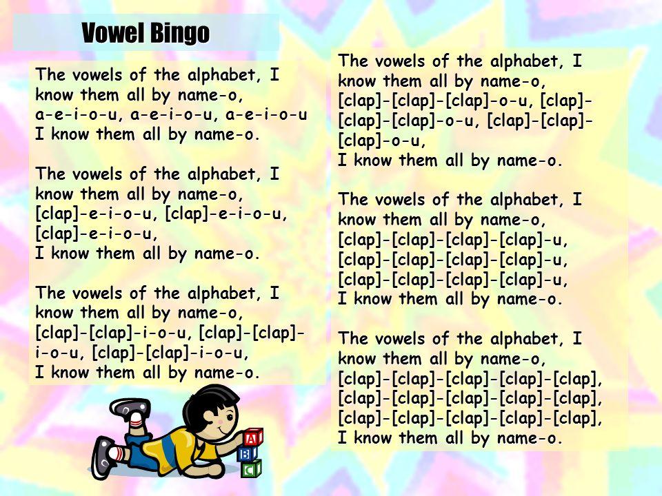 Bingo Vowels http://tinyurl.com/2tdkxv