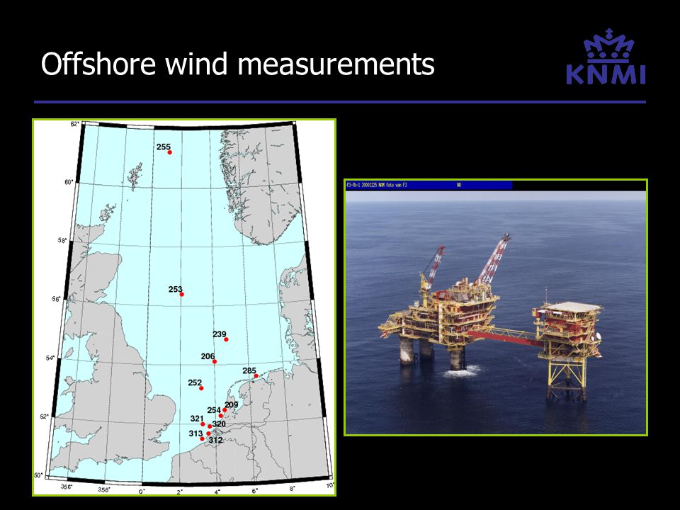 Offshore wind measurements