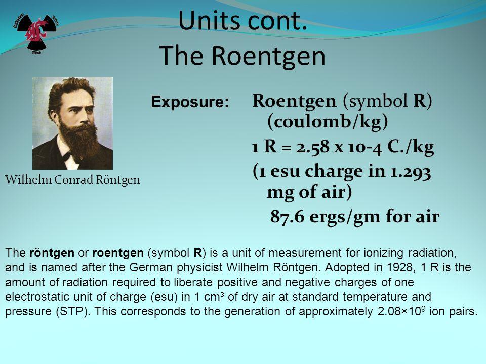 Units Definitions Really its not that hard. Energy ft lb, erg, joule, electron-volt (1 eV = 1.6 x 10-19 joules) Others: meV, keV, MeV, GeV, TeV 1 erg