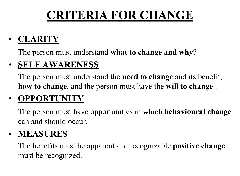 1 - Shock 2 - Denial 3 - Frustration 4 - Depression 5 - Experience 6 - Decisions 7 - Integration THE KUBLER-ROSS CHANGE CURVE