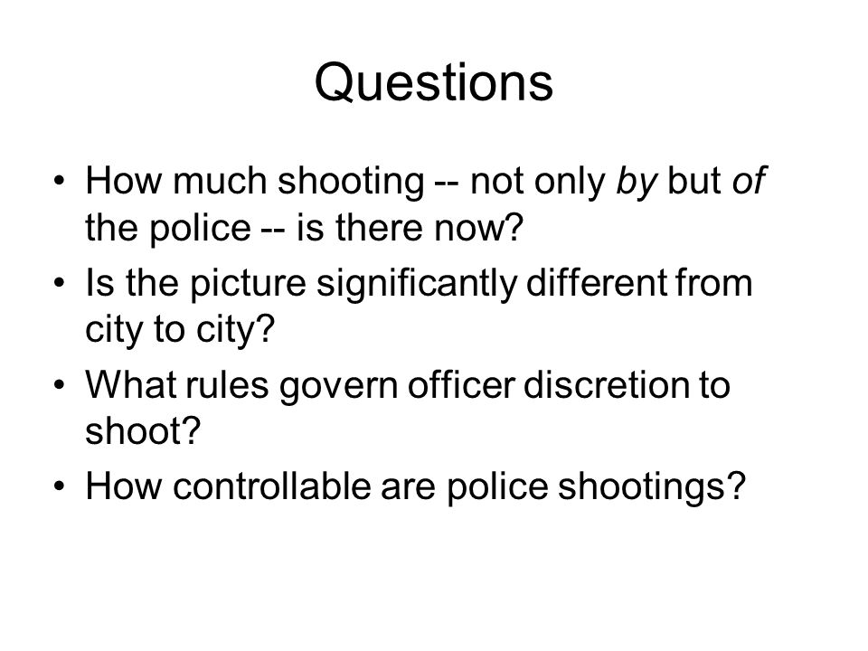 How do we prevent another Paul Childs from dying.Police training.