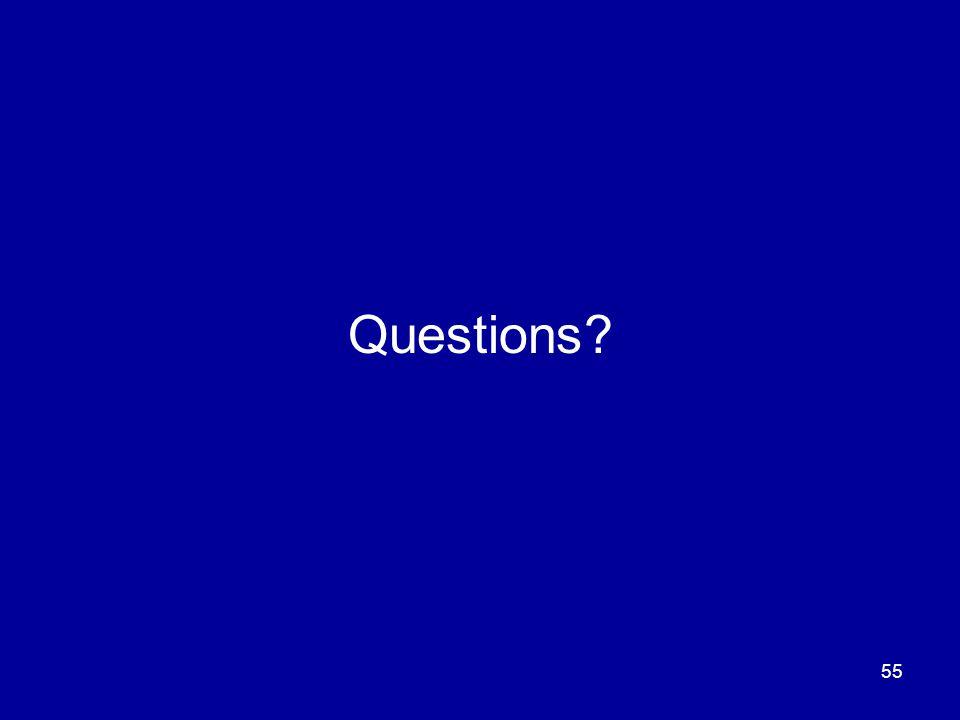 55 Questions?